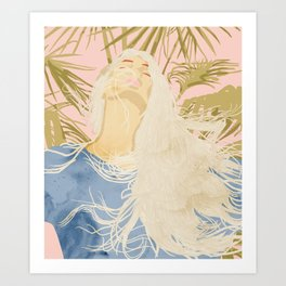 Blissful Art Print
