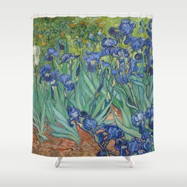 Irises by Vincent van Gogh Shower Curtain
