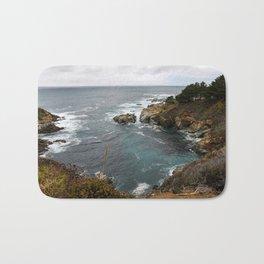 California Coastline Bath Mat