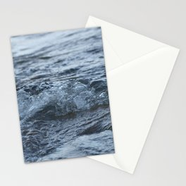 Stormy shore Stationery Cards