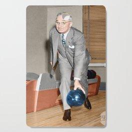 Harry S. Truman 1948 Colorized Cutting Board