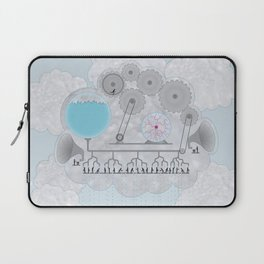 Cross-Section of a Cloud Laptop Sleeve