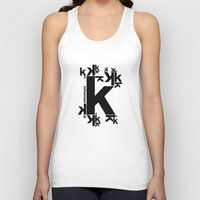 kafka Tank Tops featuring KAFKAESQUE by THE USUAL DESIGNERS