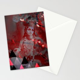 Krishna Reprise - The Hindu God Stationery Cards
