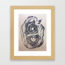 Castanea sativa: Sweet Chestnut Framed Art Print
