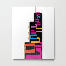 Lolla Tower Metal Print