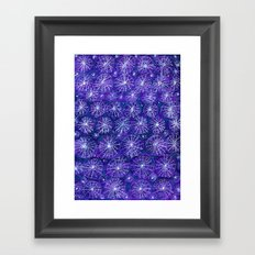 Starry Night Handmade Decoration Framed Art Print