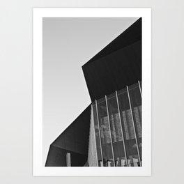 Polygon (South Wharf, 2011) Art Print