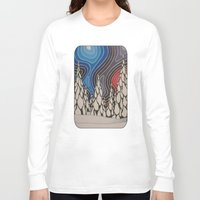 aurora Long Sleeve T-shirts featuring Aurora by The art of Summer Breeze