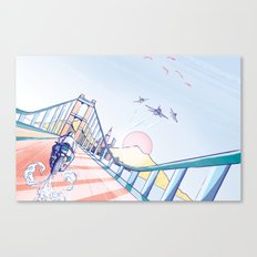 Redshift Canvas Print