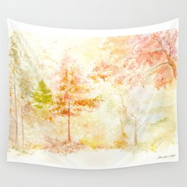 Memories of Autumn Wall Tapestry