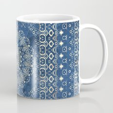 Old Bookshop Magic Mandala in Blue Mug