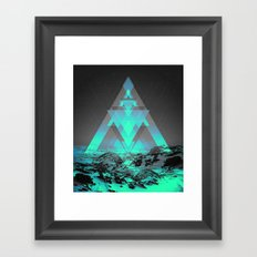 Neither Real Nor Imaginary II Framed Art Print