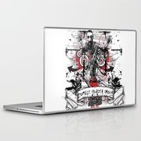 zombie Laptop & iPad Skins featuring Zombie by DaeSyne Artworks
