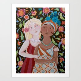 Embracing Differences Art Print