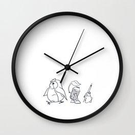 Star Ghibli Wars: Mashup Drawing Wall Clock