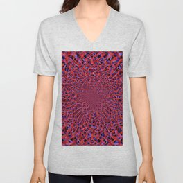 radial layers 9 Unisex V-Neck