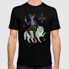 Witch Series: Demon Black Mens Fitted Tee 2X-LARGE