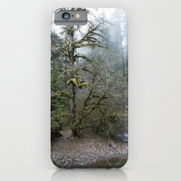 A Creek Runs Through It iPhone Case