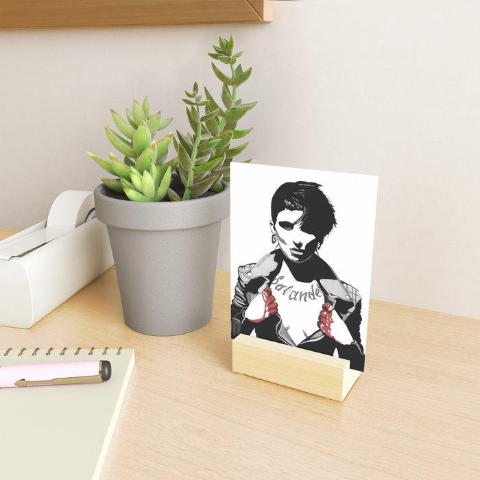 Bloody Salander Mini Art Print