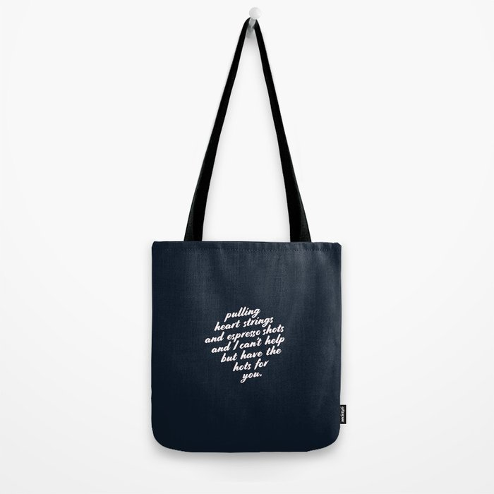 Barista Boyfriend - Heart Strings Tote Bag