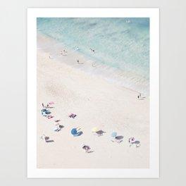 Beach Love 1  (part of a diptych) Art Print