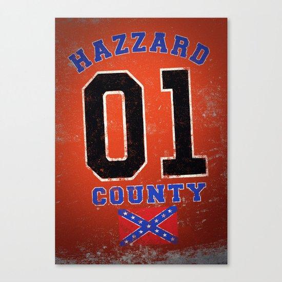 The Duke's a Hazzard! Canvas Print