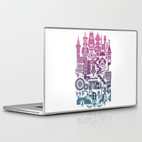 castle Laptop & iPad Skins featuring Castle Mama by C86 | Matt Lyon