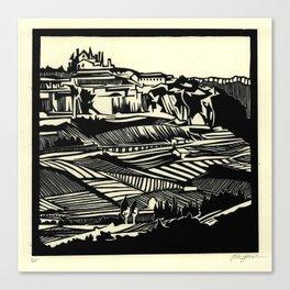Linescape Canvas Print