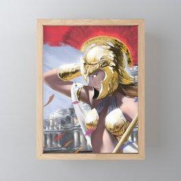 Athena Framed Mini Art Print