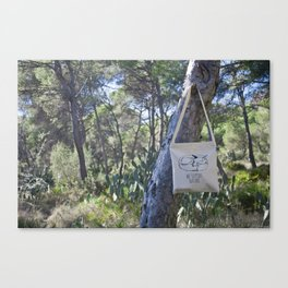 We Support Nature Tote bag Canvas Print
