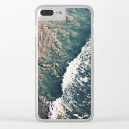 Gradient of the Sea Clear iPhone Case