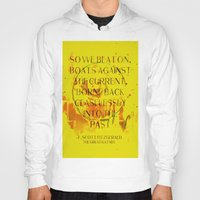 the great gatsby Hoodies featuring The Great Gatsby by Prism Designs