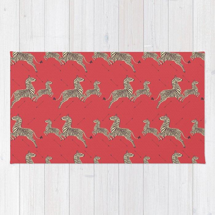 Royal Tenenbaums Wallpaper Rug