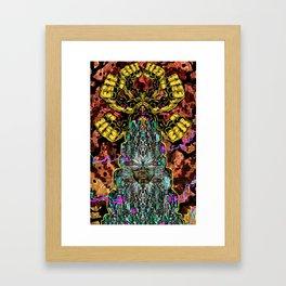 CROWN OF BADASSERY Framed Art Print