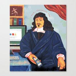 Modern Philosophy Canvas Print