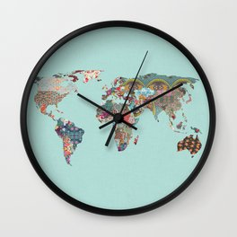 Louis Armstrong Told Us So (teal) Wall Clock