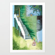 Princess Searching Art Print