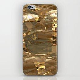 Golden Foil iPhone Skin
