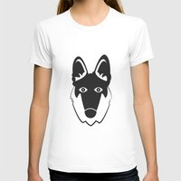 german shepherd T-shirts featuring German Shepherd by anabelledubois