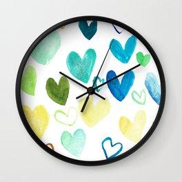 Love ain't just pink Wall Clock