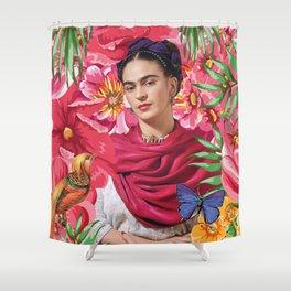 Forever Frida Kahlo Shower Curtain
