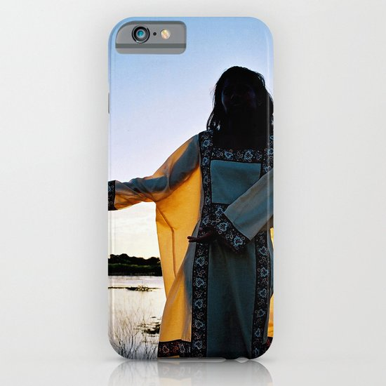 WAYUU YOUNG NATIVE LADY iPhone & iPod Case
