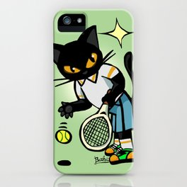 Tennis player iPhone Case