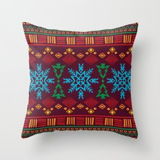 KRISMASI 3 Throw Pillow
