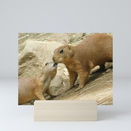 Prairie Dog Friends Mini Art Print