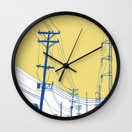 Urban Landscape no.2 Wall Clock