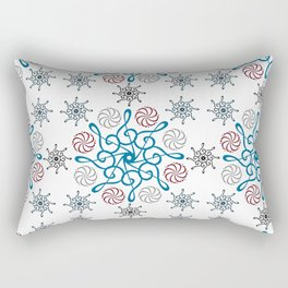 Musical repeating pattern No.2, Collection No.1 Rectangular Pillow