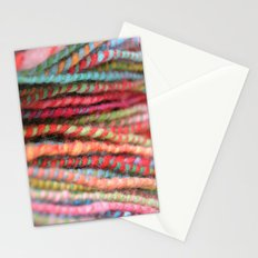 Handspun Yarn Color Pattern by robayre Stationery Cards