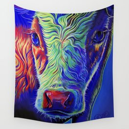 See With Our Own Clarity Wall Tapestry